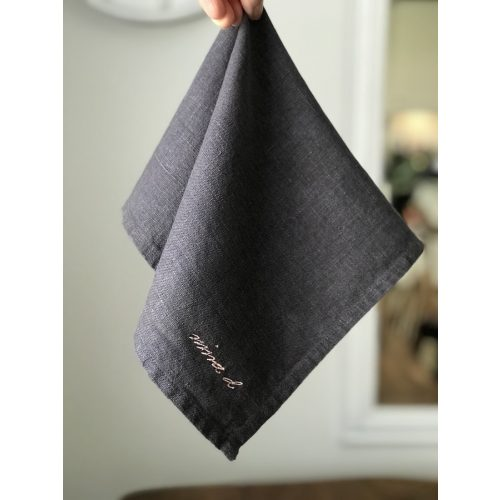 Napkin Dark Grey