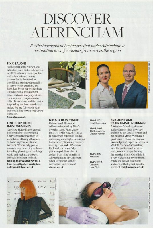 Living Edge, Article, Press, Feature, NINA D